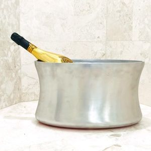 WATERFORD Silver Champagne Wine Bucket